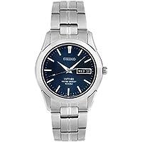 Seiko Men SGG717P Year-Round Analog Quartz Silver Watch