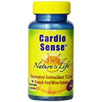 海外直送品Cardio Sense, 250 mg, 60 vcaps by Nature's Life