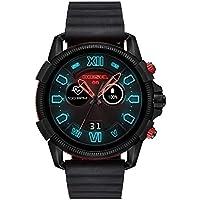 Diesel Men's Quartz Smartwatch smart Display and Silicone Strap, DZT2010
