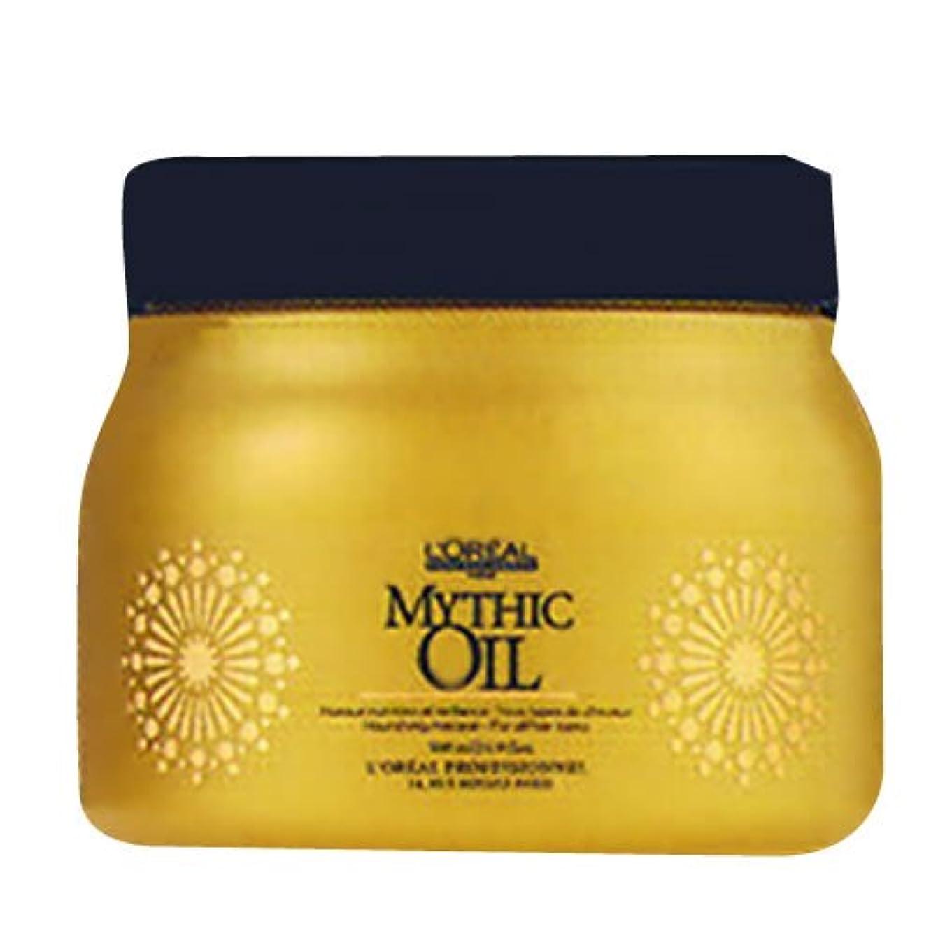 番目中世の資産ロレアル ミシックオイル マスク <500g> LOREAL MYTHIC OIL