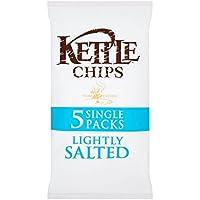 (Kettle (ケトル)) チップ軽く塩漬け風味ポテトチップスマルチパック5×30グラム (x4) - Kettle Chips Lightly Salted Flavour Crisps Multipack 5 x 30g (Pack of 4) [並行輸入品]