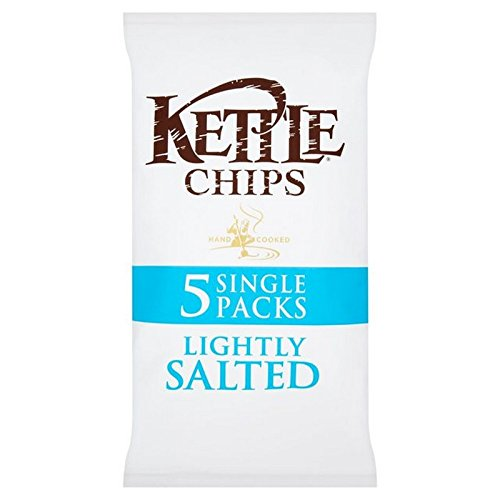 (Kettle (ケトル)) チップ軽く塩漬け風味ポテトチップスマルチパック5×30グラム (x2) - Kettle Chips Lightly Salted Flavour Crisps Multipack 5 x 30g (Pack of 2) [並行輸入品]