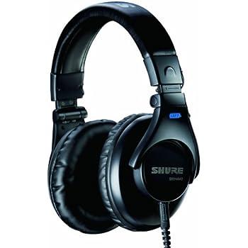 SHURE ヘッドホン SRH440 密閉型 プロフェッショナル スタジオ用 SRH440-A 【国内正規品】