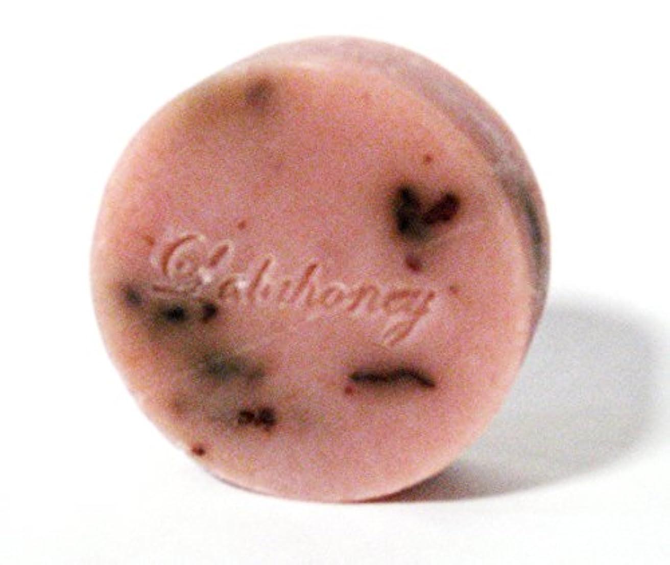 ふくろう上昇温帯LALAHONEY 石鹸〈ピンクフラワーの香り〉80g【手作りでシンプルなコールドプロセス製法】