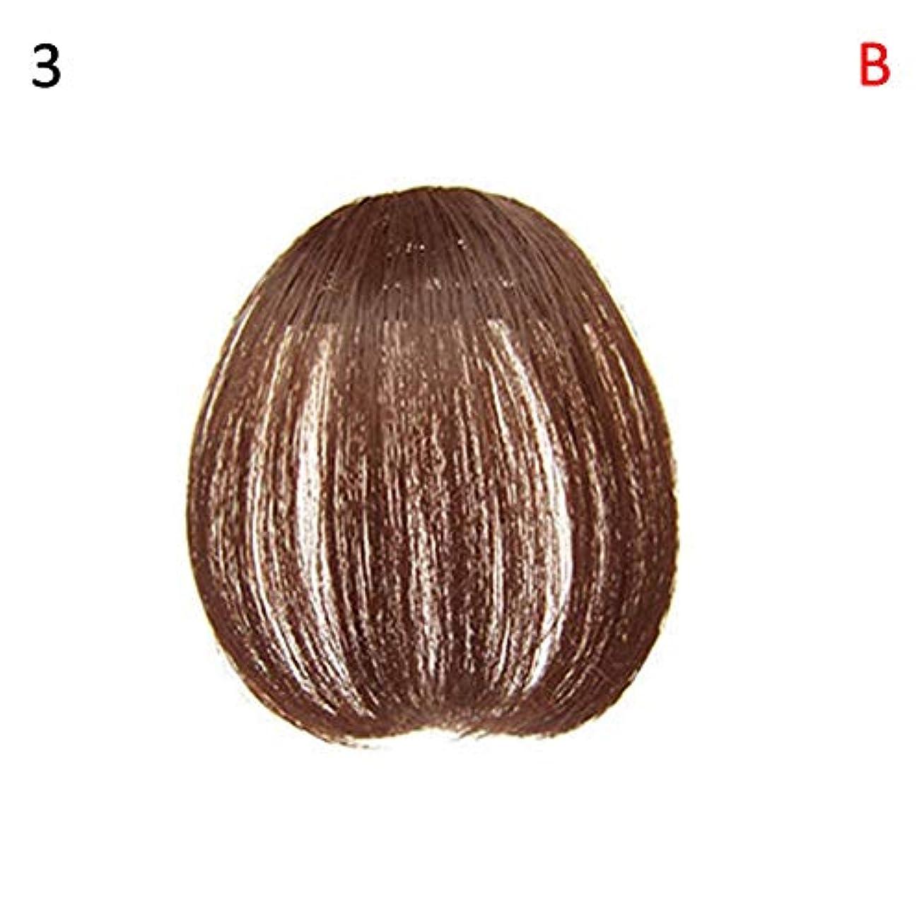 コテージ真空ベリーslQinjiansav女性ウィッグ修理ツールファッションレディース薄いクリップオンエアバンフロントフリンジウィッグヘアエクステンションヘアピース