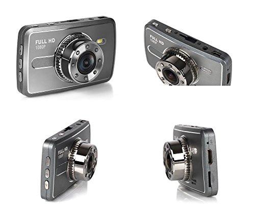『TA-Creative 広角 170°300万画素 フルHD 1080P 2.7インチ 液晶搭載 セキュリティ ドライブレコーダー 常時録画 Gセンサー 駐車モード ナイトビジョン TA-008C (シルバー)』の9枚目の画像