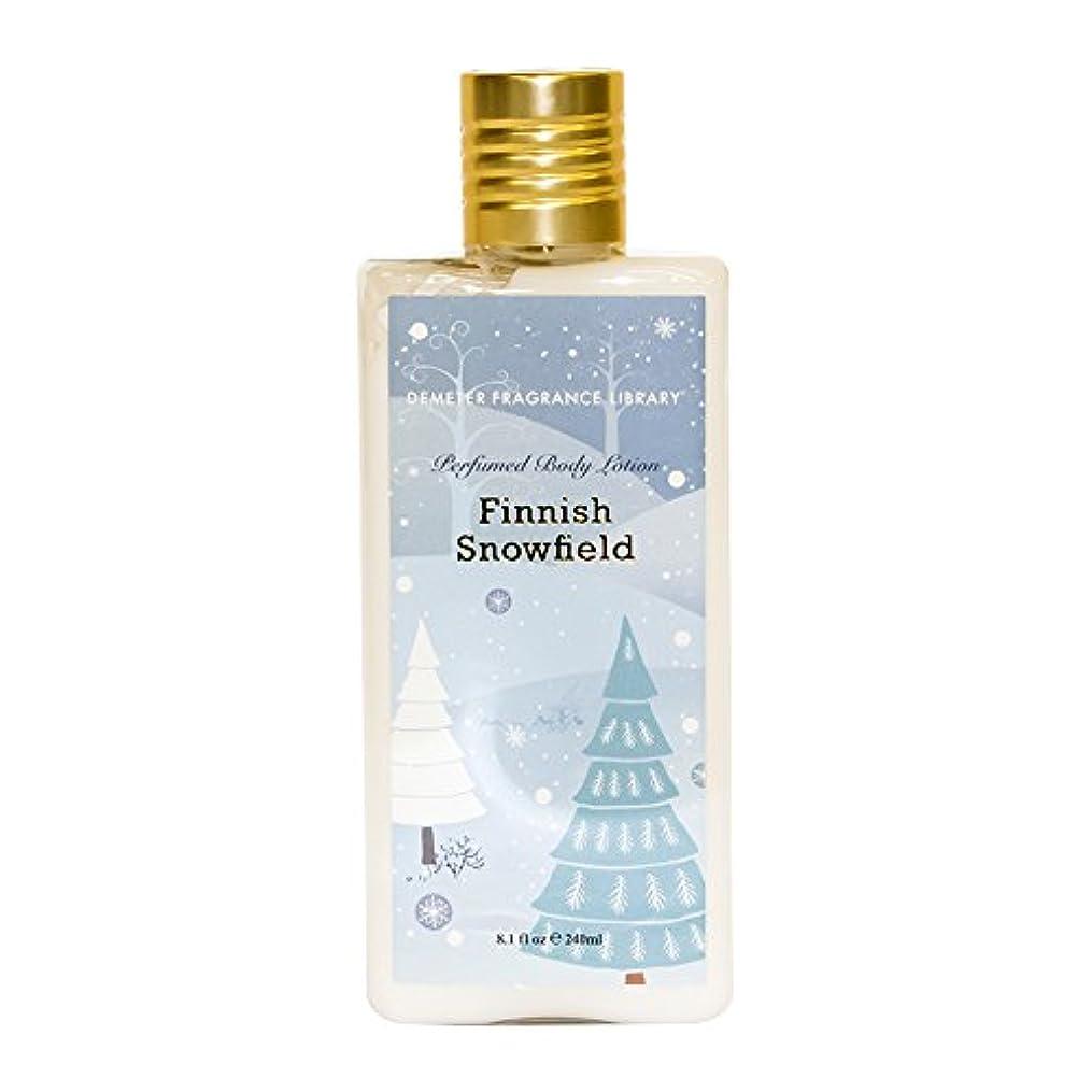 角度常識伝染病ディメーター ボディローション (フィンニッシュスノーフィールドの香り) 240mL