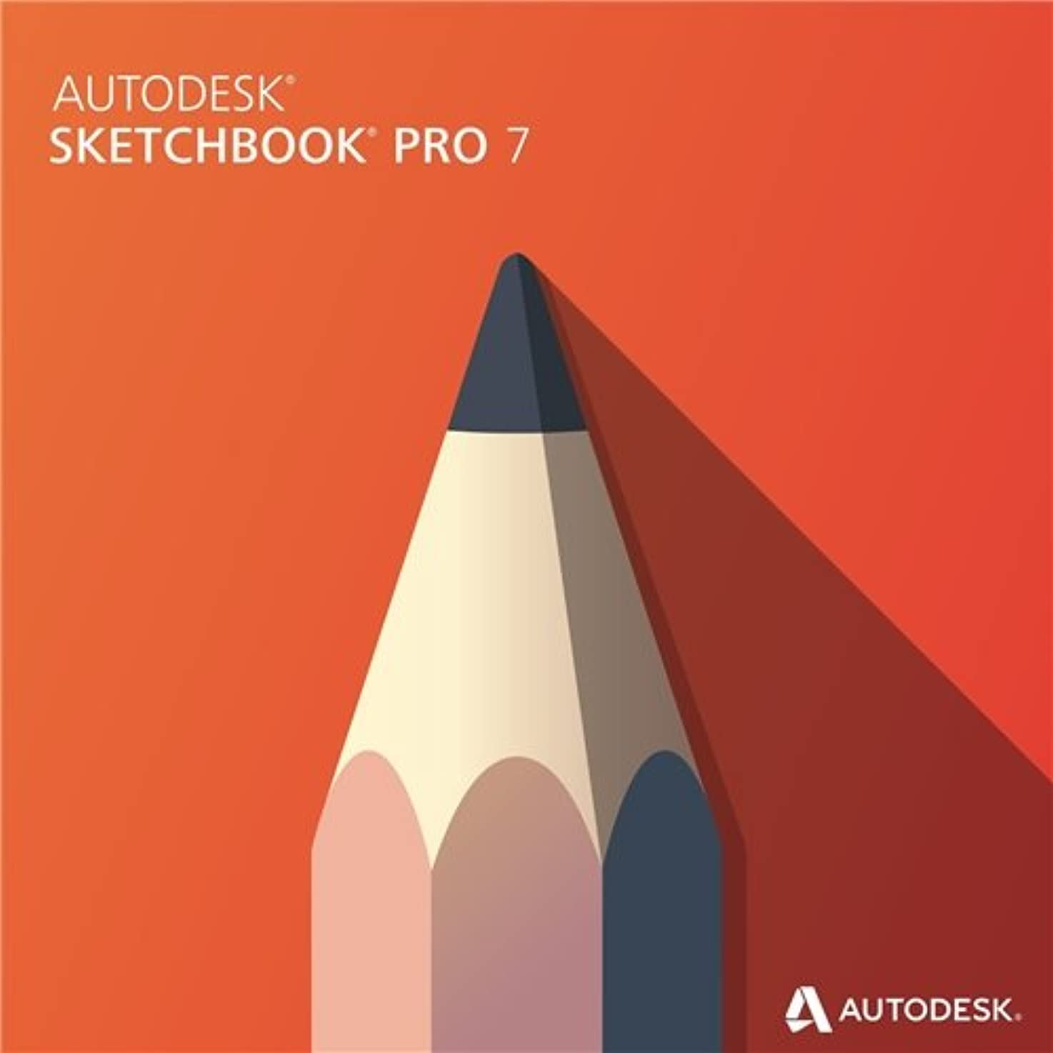 病な揮発性運命的なAutodesk Sketchbook Pro 7 Commercial New SLM