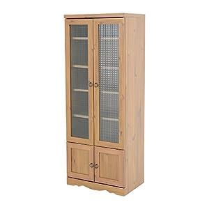 SATO ビストロ 食器棚 ライトブラウン BTC150-60G LBR