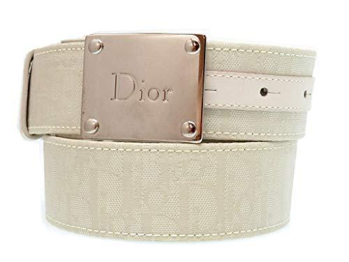 (クリスチャンディオール) Christian Dior トロッター ベルト キャンバス/レザー メンズ 0068 中古