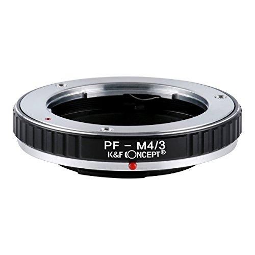 KF Concept マウントアダプター PF-m4/3 Olympus Pen Fマウントレンズ-マイクロフォーサーズマウントボディ用 PFレンズ- Micro4/3カメラ装着用レンズアダプターリング Panasonic G GF GX など専用 高精度