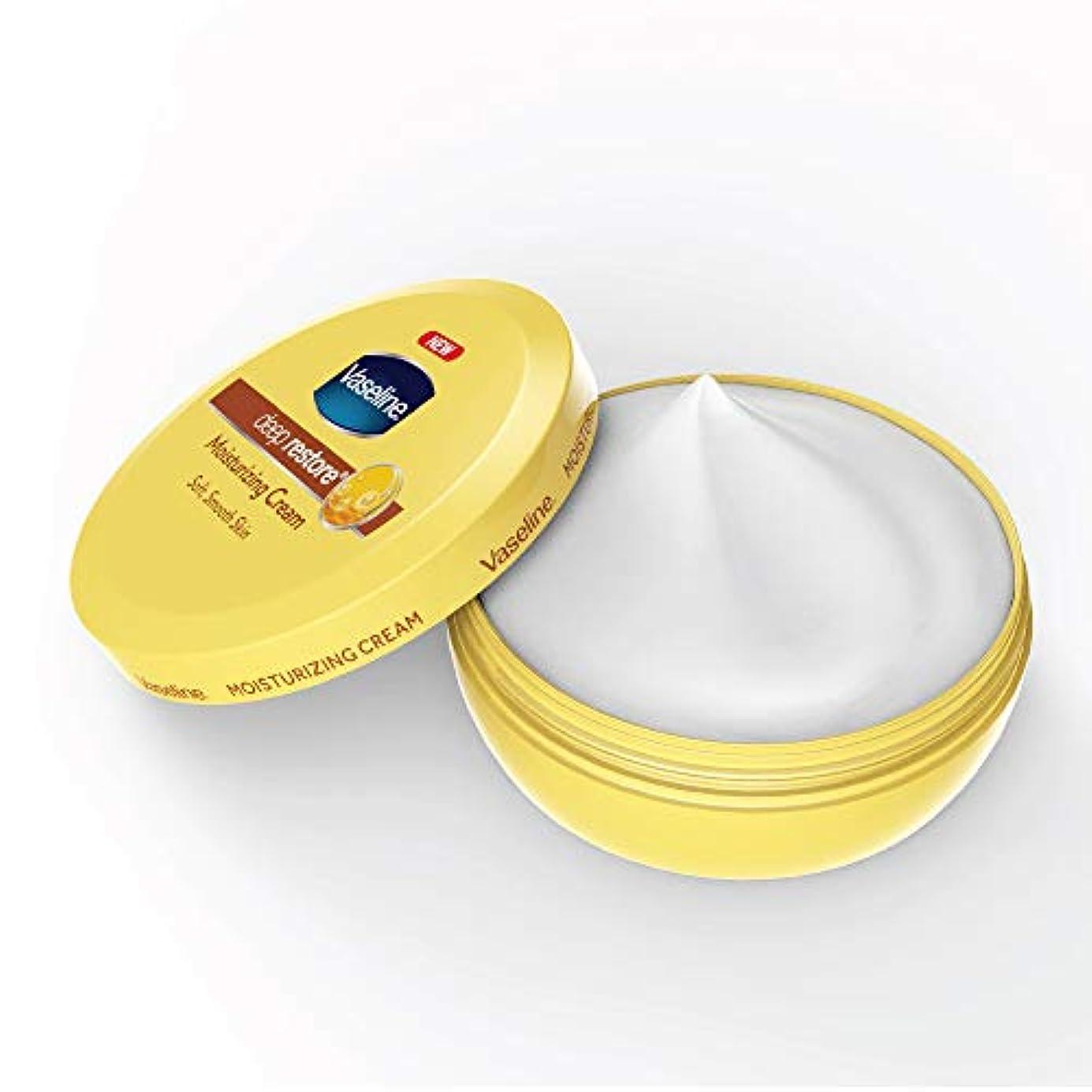 吐き出す各ギャングVaseline Deep Restore Body Cream, 150ml