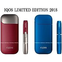 【2個セット】欧州正規品 iQOS 2.4 plus ルビーエディション&iQOS 2.4 サファイアブルー
