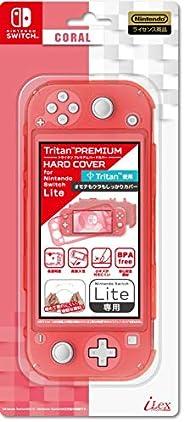 【任天堂ライセンス商品】ニンテンドースイッチLite用トライタンハードカバー『Tritan(TM)プレミアムハードカバー for ニンテンドーSWITCH Lite(クリアコーラル)』 - Switch