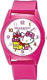 [シチズン Q&Q] 腕時計 アナログ ハローキティ 防水 ウレタンベルト HK32-003 レディース ピンク
