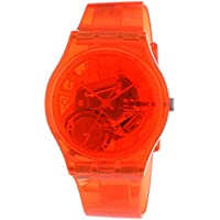 Swatch Men's G0114 Abricotier Year-Round Analog Quartz Orange Watch