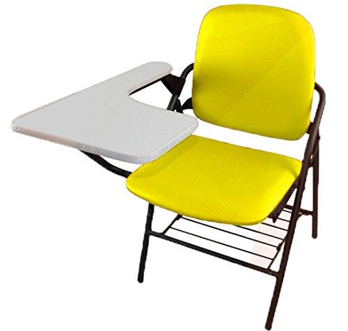 【送料無料】 テーブル 一体型 付き クッション付き チェア ◇RA-CHBLE02 会議 折り畳み式 2脚セット 自宅 介護 収納 チェアブル2 簡易