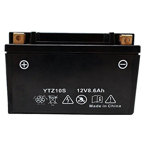バイク用 バッテリー 液入り 充電済み YTZ10S ( Y...