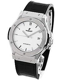 ウブロ クラシック フュージョン チタニウム オパリン アリゲーターレザー 腕時計 メンズ HUBLOT 511.NX.2611.LR[並行輸入品]