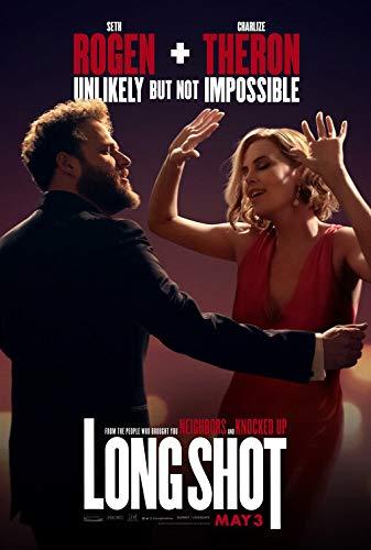 ロング・ショット 僕と彼女のありえない恋 US版オリジナルポスター1