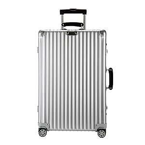 リモワ CLASSIC FLIGHT 974.63 97463 クラシックフライト MULTIWHEEL マルチホイール スーツケース キャリーバッグ シルバー 60L (971.63.00.4) 974.64 97464 [並行輸入品]