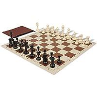 マスターシリーズ教室チェスセットパッケージブラック&アイボリーPieces – ブラウン