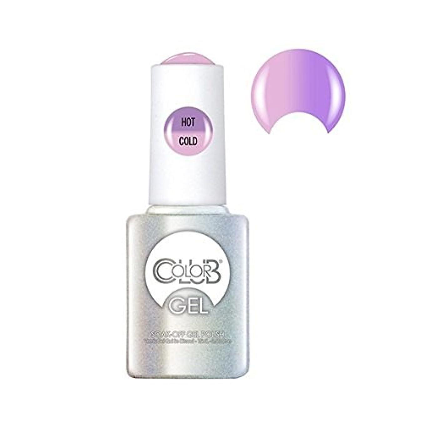 なぜならストロー分類Color Club Gel Polish - Go with the Flow - 0.5oz / 15ml