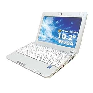 マウスコンピューター LuvBOOK U100(XP Home/ATOM N270(1.60GHz)/1GB/80GB/10.2インチ液晶/Netbook) Q8072800040