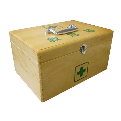 リーダー木製救急箱 Sサイズ 1個
