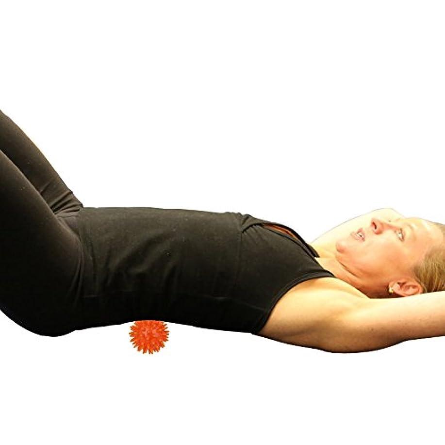 道徳瞑想する統治可能Perfk オレンジ マッサージボール 手のひら 足 腕 首 背中 足首 ソフト