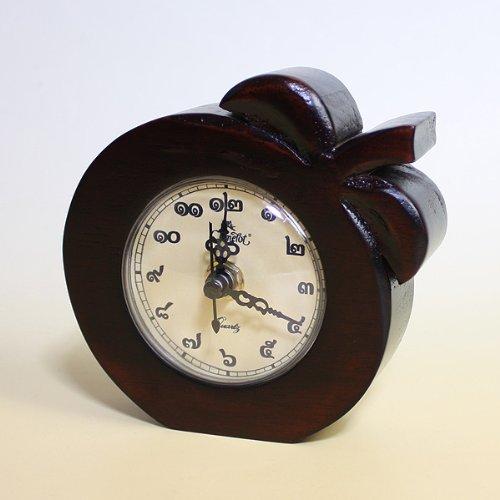 キャメロット(Camelot)タイ文字置時計(マンゴー)