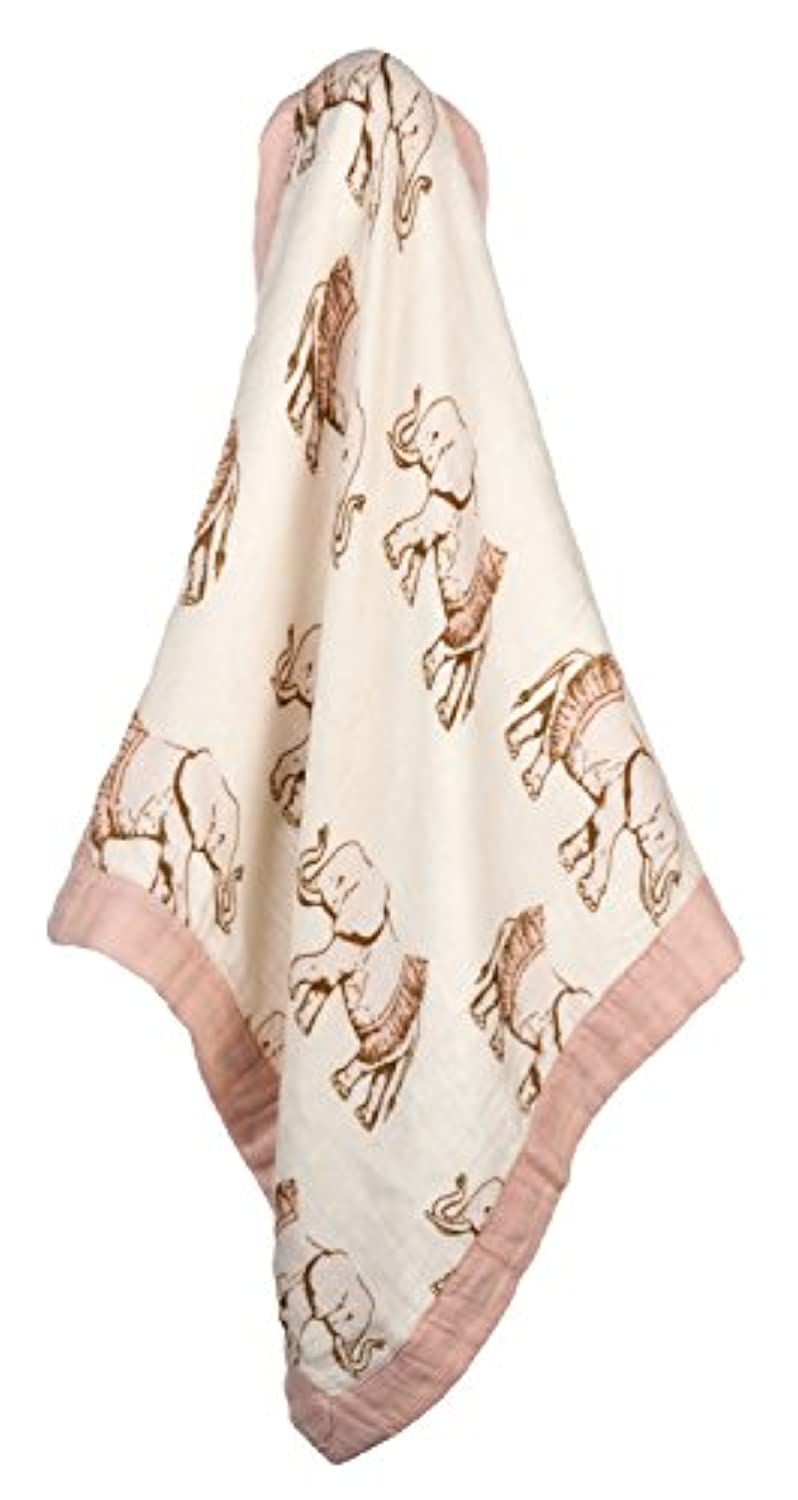 MilkBarn Mini Lovey Baby Blanket (Tutu Elephant) by MilkBarn