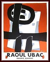 ポスター ラウル ウバック Exposition 1950 額装品 ウッドベーシックフレーム(ブラウン)