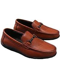 ドライビングシューズ ビット メンズ 靴 スリッポン デッキシューズ ローカット レザー 本革 ブラウン 黒 ブラック ビター ローファー 軽量 靴 紳士靴 歩きやすい 快適 履きやすい 通勤 運転靴 オフィス 防滑 柔らかい