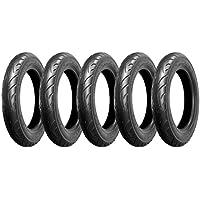 バイクパーツセンター バイクタイヤ 3.00-10 4PR T/L 5本セット チューブレス 790101