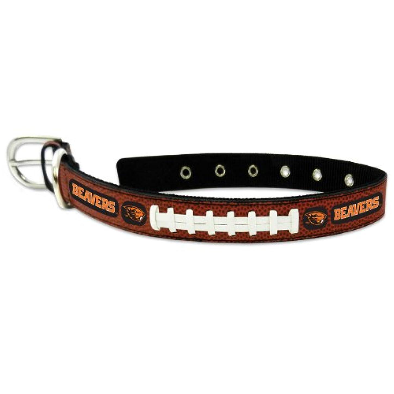 衰える負担遺産Oregon State Beavers Classic Leather Large Football Collar