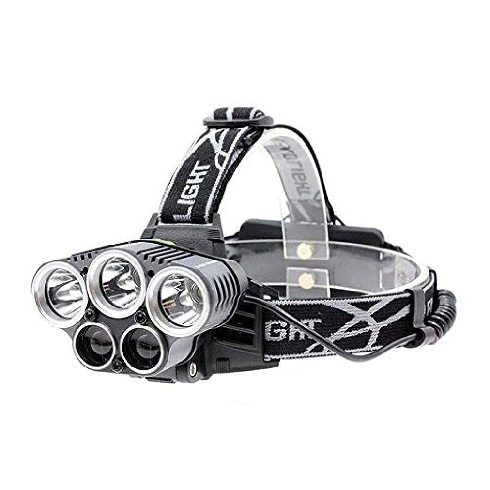 タンクつば薬理学屋外LEDグレア照明ハイパワーナイトフィッシングスーパーヘッドライトUSB充電ナイトライディングキャンプ多機能ヘッドライト