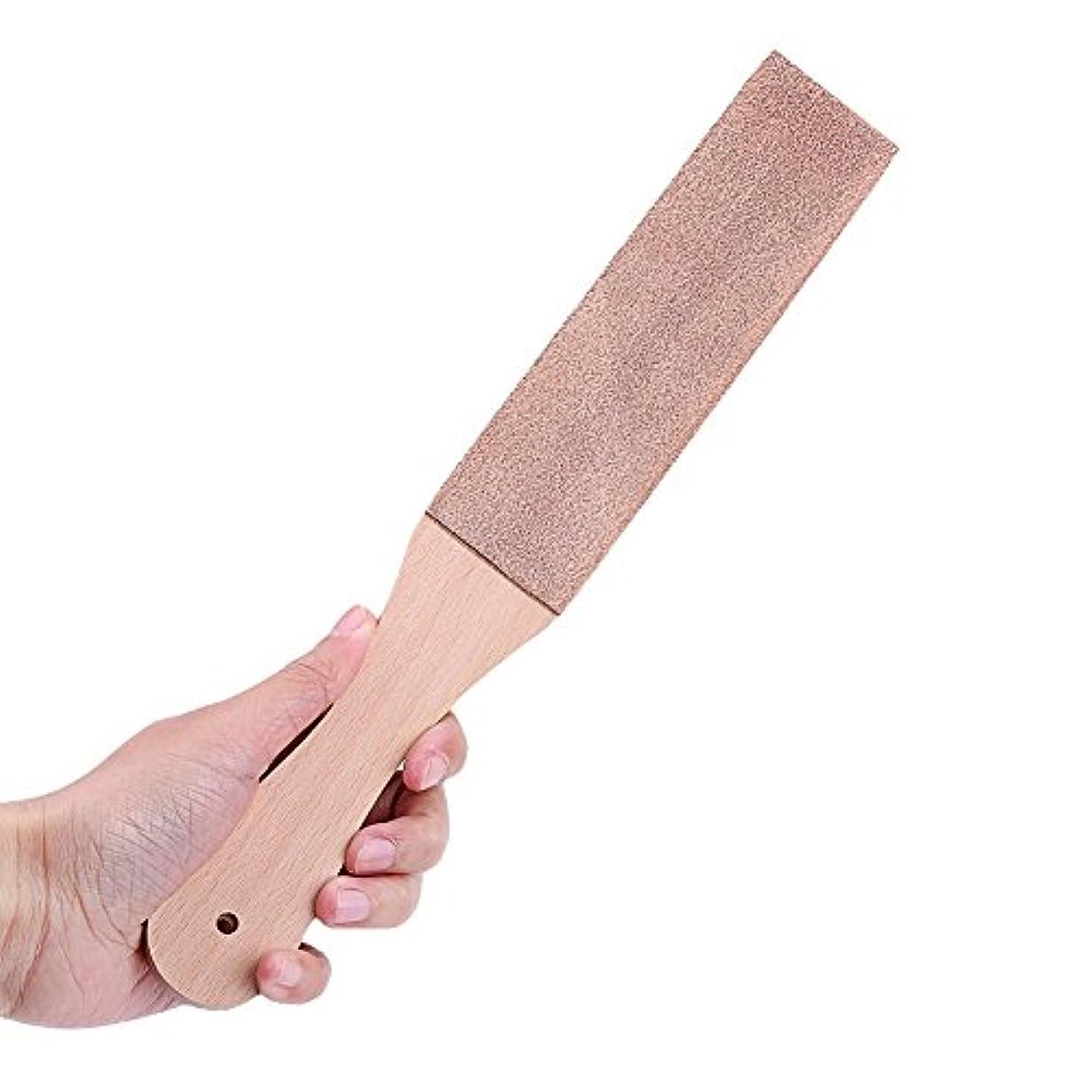 かみそり削り男性シェーバー削り板ダブルサイドPUレザーかみそりストレートStropナイフ研磨ベルト