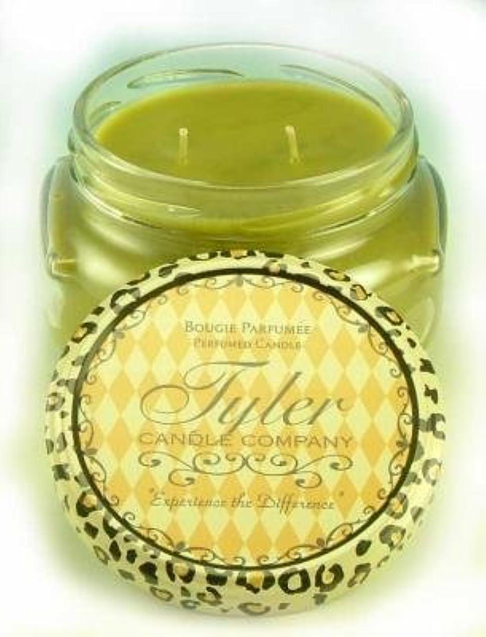 口頭潮幾何学1 X Tyler Glass Scented Candle 11 Oz, Original by Tyler Company [並行輸入品]