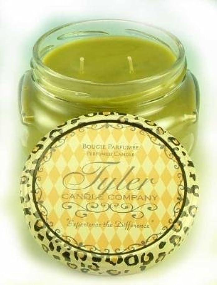 折り目バリア優れました1 X Tyler Glass Scented Candle 11 Oz, Original by Tyler Company [並行輸入品]