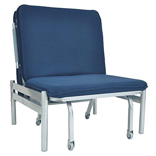 ベッド ソファ ソファベッド 折りたたみベッド 1台3役 簡易ベッド リクライニング機能付き 金属製フレームでしっかり安定 パイプベッド セミシングル 「 OAZO 」