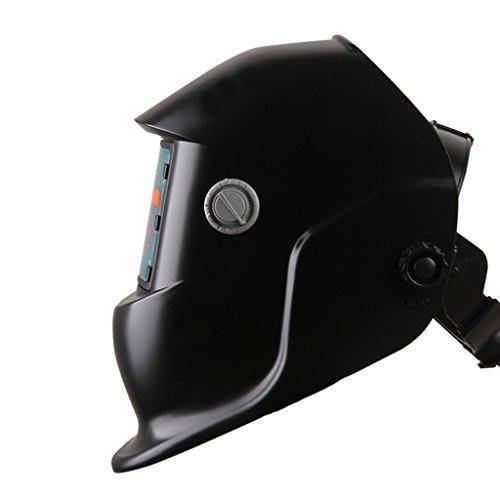 自動遮光溶接面 液晶フィルター 遮光速度1/30000秒 ソーラー充電式溶接マスク・溶接ヘルメット