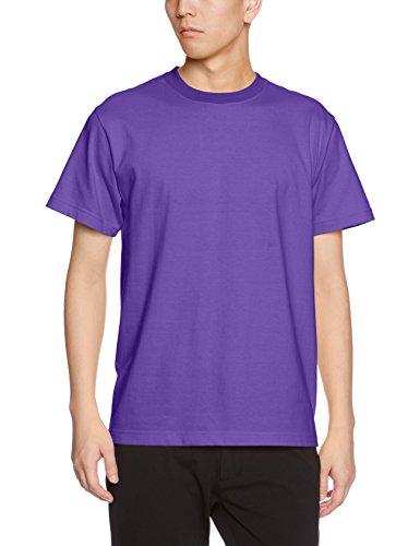 ユナイテッドアスレ 5.6オンス ハイクオリティー Tシャツ 500101 539 バイオレットパープル S