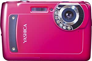 YASHICA 赤外線ナイトモード搭載 6×IR デジタルカメラ EZ Digital F537IR ピンク [35244]
