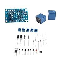 Fenteer 基板 スピーカー保護 2チャンネル DC スタート 遅延 AC 12-15V 15A 電子部品