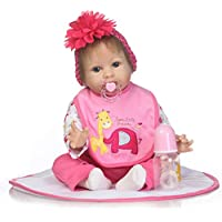 SanyDoll Rebornベビー人形ソフトSilicone 22インチ55 cm磁気Lovely Lifelike Cute Lovely Baby b0763lvdnq