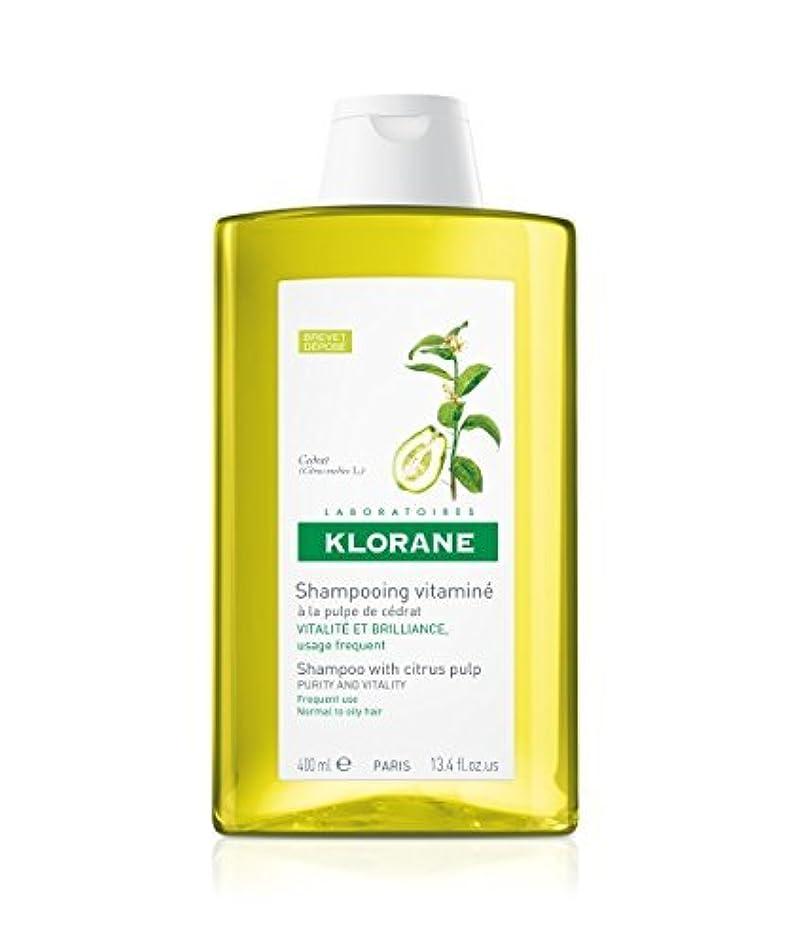 ペインティング全国。Shampoo with Citrus Pulp, 13.4 oz by Klorane [並行輸入品]