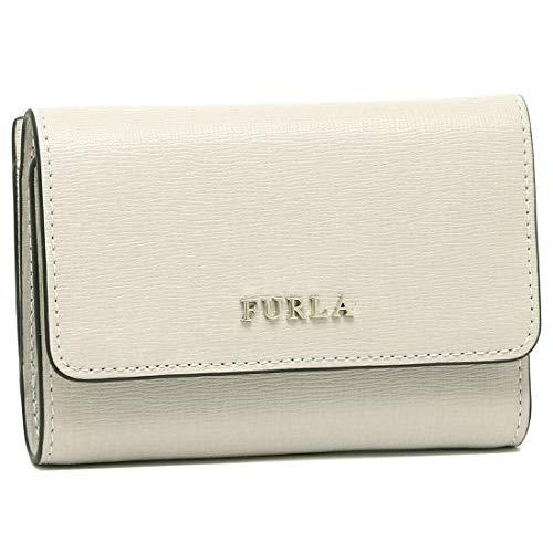 [フルラ] 財布 FURLA PR76 B30 BABYLON S TRIFOLD バビロン レディース 三つ折り財布 無地 ((6)PERLA(979037 GDJ)) [並行輸入品]