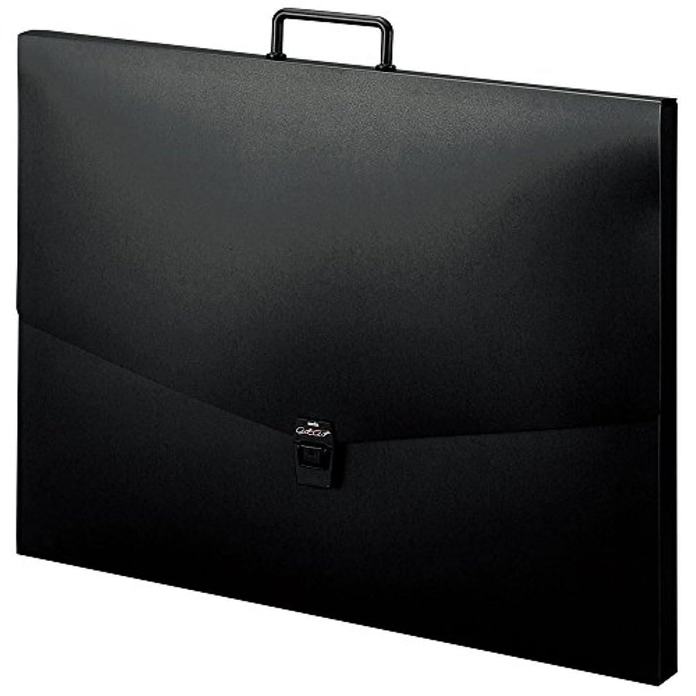 永遠にタイプ教師の日セキセイ ドキュメントファイル アルタートケース 四切 ブラック ART-850