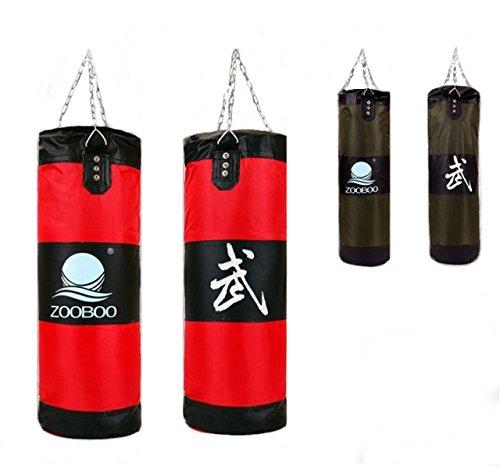 ボクシング フィットネス 5サイズサンドバッグ (グリーン, 100 センチメートル)
